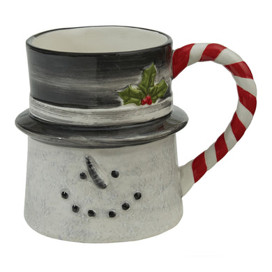 Sketchbook Snowman Ceramic Mug Single or Set/4