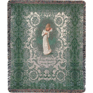 Willow Tree Thinking of You Throw Blanket