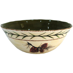 Pine Cone Serving Bowl, 1 PC