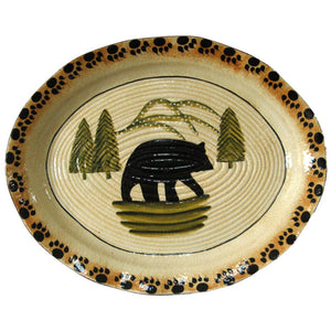 Ceramic Bear Serving Platter