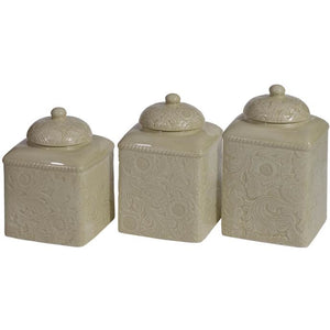Savannah Canister Set, Taupe