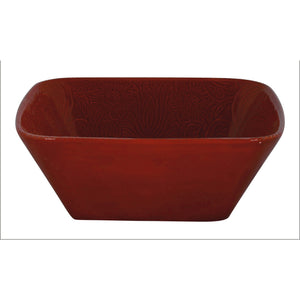 Savannah Serving Bowl (Each), Red