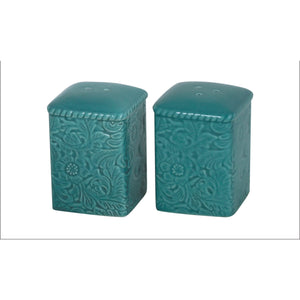 Savannah Salt & Pepper (Pair), Turquoise
