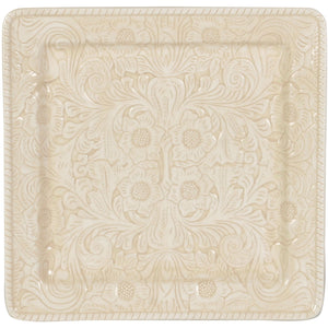 Savannah Serving Platter(Each), Cream