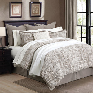 3 Pc Trent Comforter Set, Super Queen