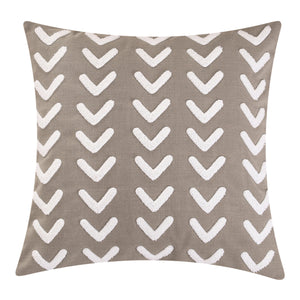 Applique Arrow Design Pillow, 20x20
