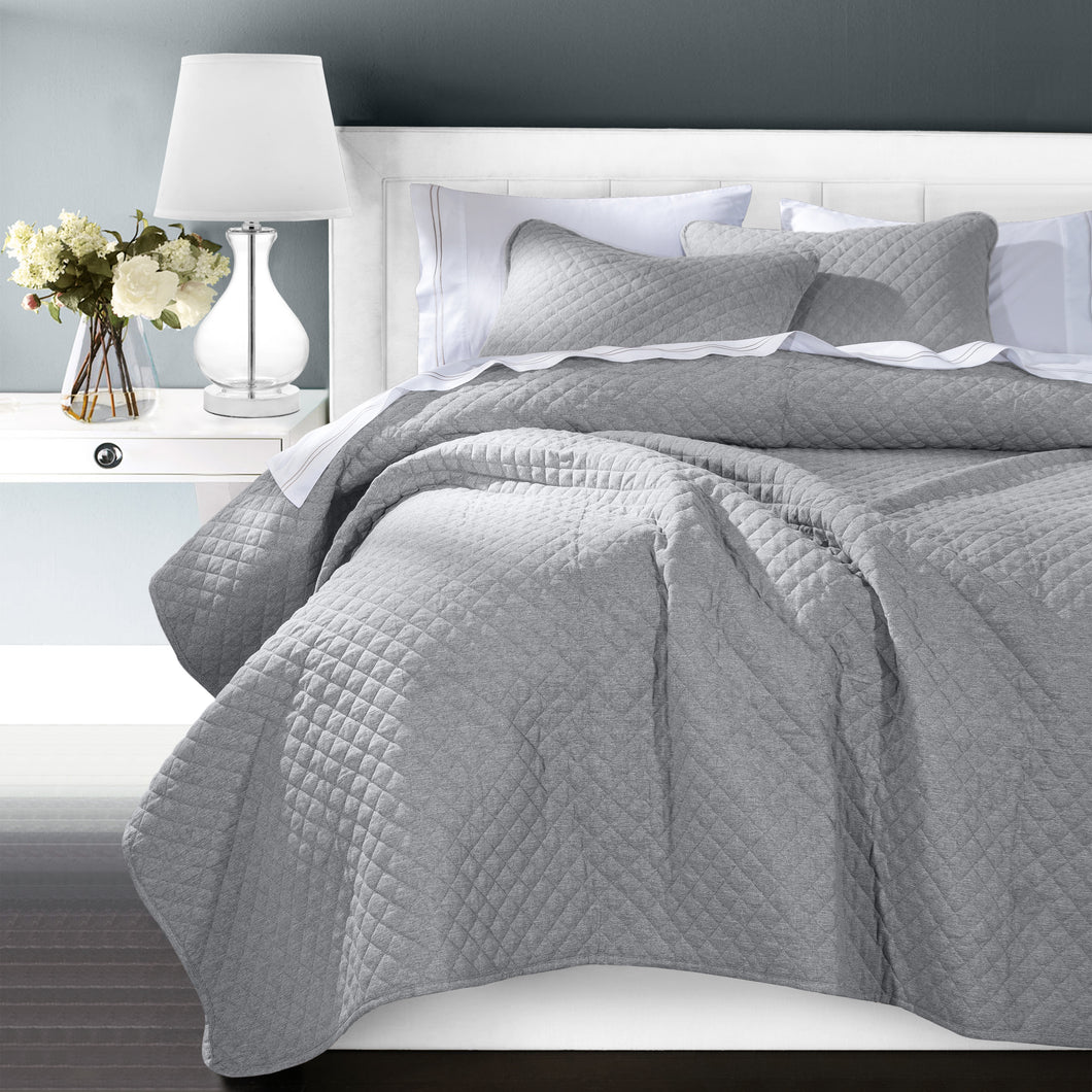 Anna Coverlet, Super King Gray