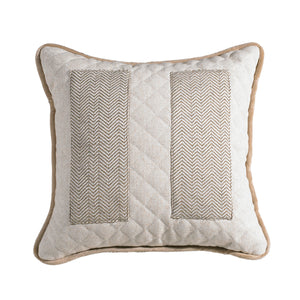 "Herringbone Pocket Pillow, 18""X18"""