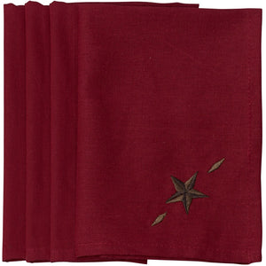 Star Napkin Red (Set of 4)