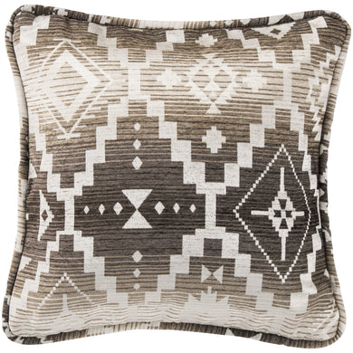 Square Aztec Pillow, 18x18