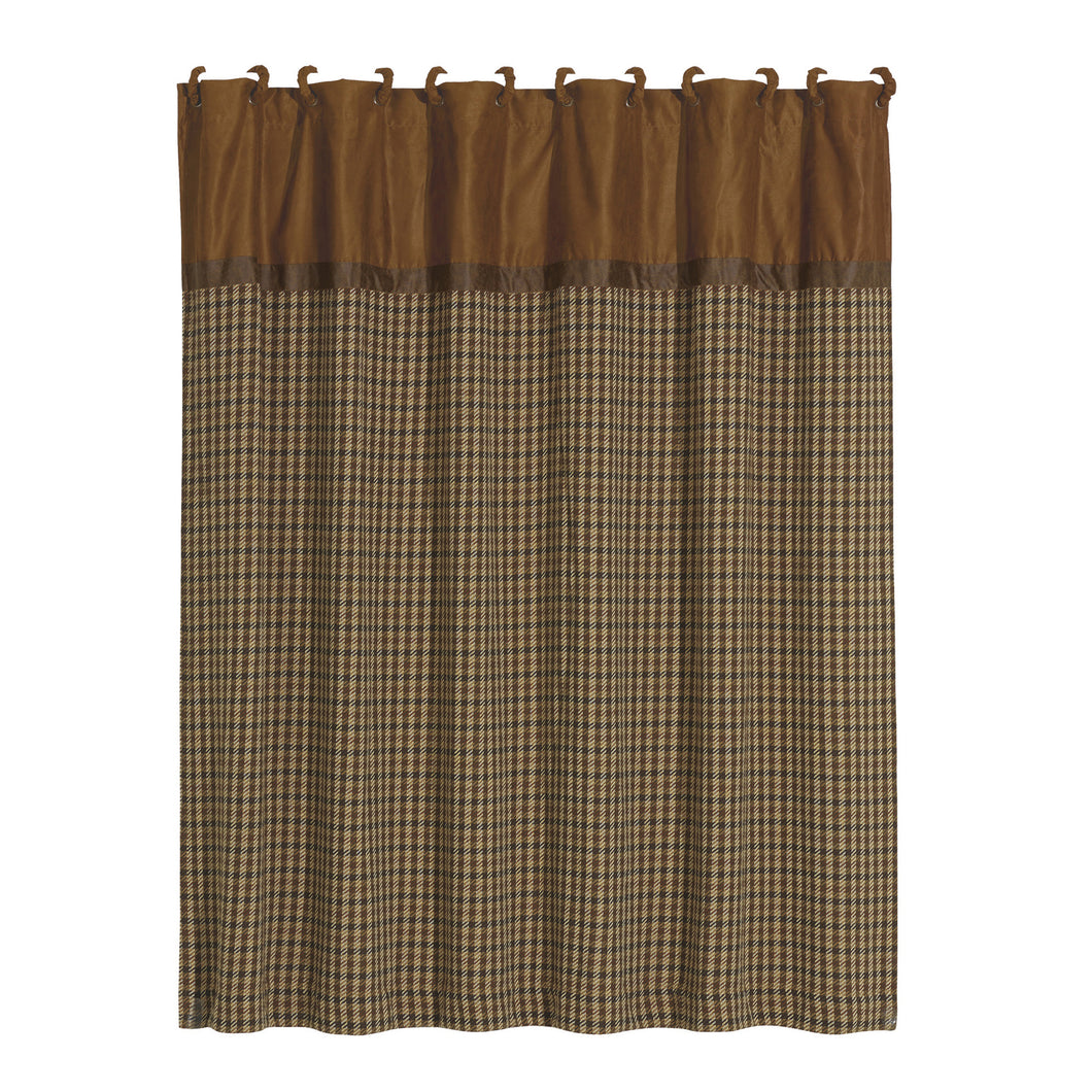 Crestwood Houndstooth Shower Curtain, 72