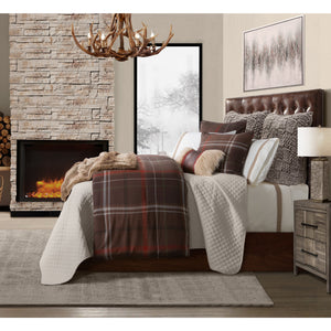 3 Pc Jackson Bedding Set, Super King