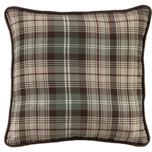 Plaid Pillow, 22x22
