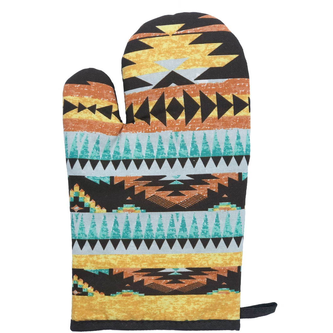 5-Pc Mesa Printed Oven Mitts