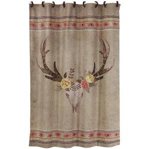 Desert Skull Shower Curtain, 72x72