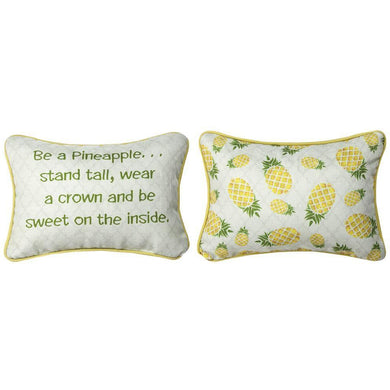 Be A Pineapple Word Pillow - 12.5