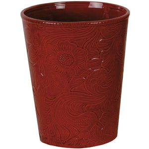 Savannah Waste Basket (EACH),   Red