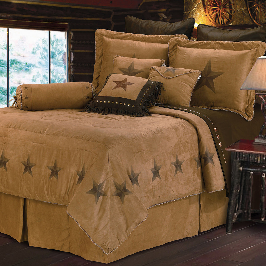 Luxury Star Comforter Set, Full