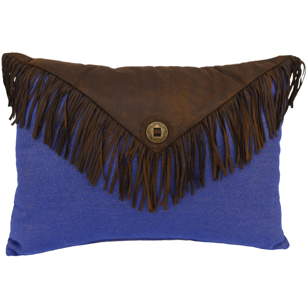 Envelop Fringe Pillow, 16