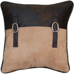 "Saddle Bag Pillow, 18""X18"""