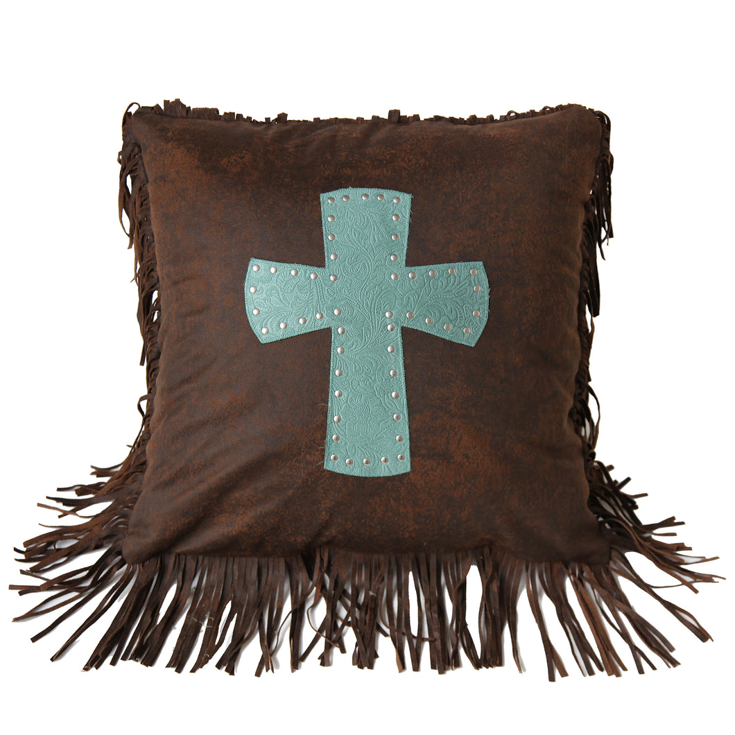 Cheyenne Cross Pillow , 18