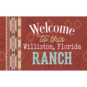Welcome To This (Insert) Ranch Framed Art