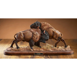 Test of Strength – Bison Sculpture