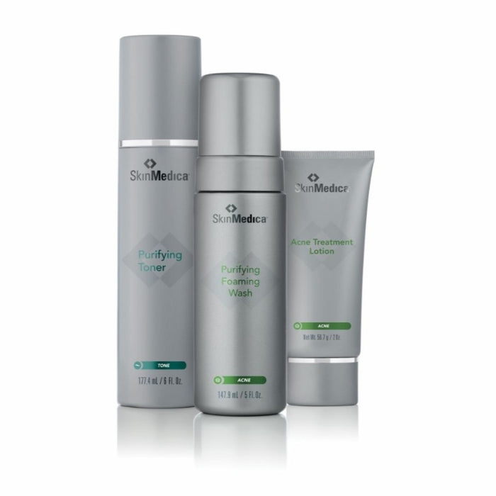 SkinMedica Acne System (Foaming Wash, Toner, Lotion)