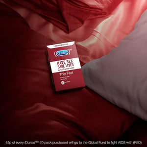 Durex RED condoms - 20 pack-Condoms-Durex UK