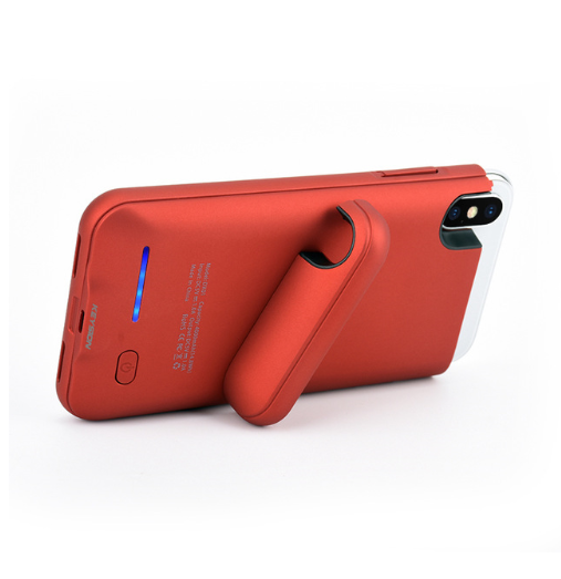 huge discount dcd16 011f9 Red iPhone X Portable Charging Case
