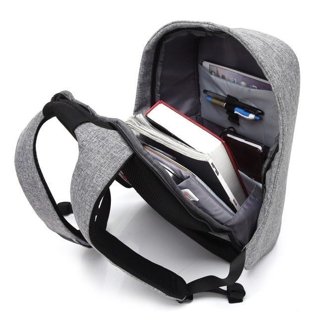 Sac à Dos USB Anti Vol