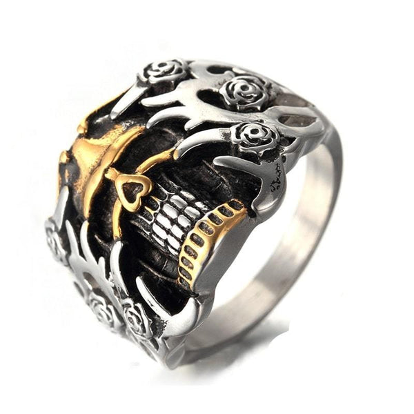 Bague Burning Skull