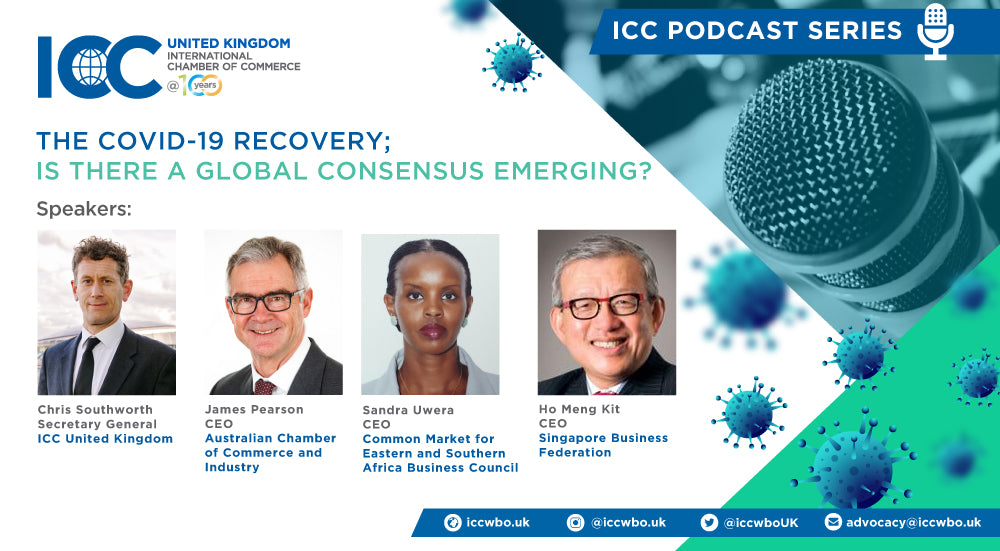 ICC PODCAST SERIES - THE COVID-19 RECOVERY - EPISODE 1