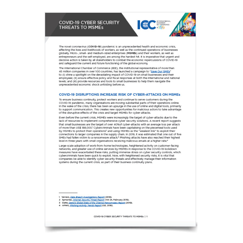 ICC SOS CyberSecurity