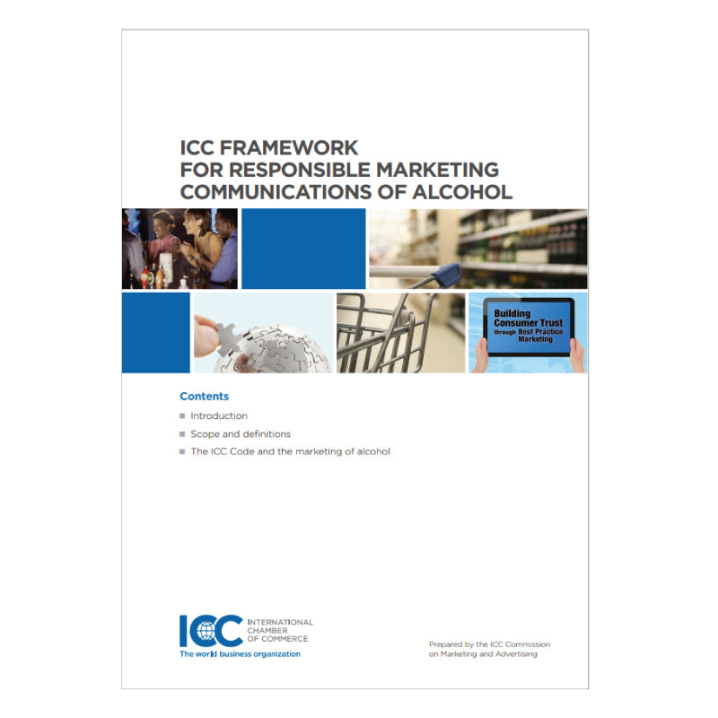 ICC Framework for Responsible Marketing Communications of Alcohol