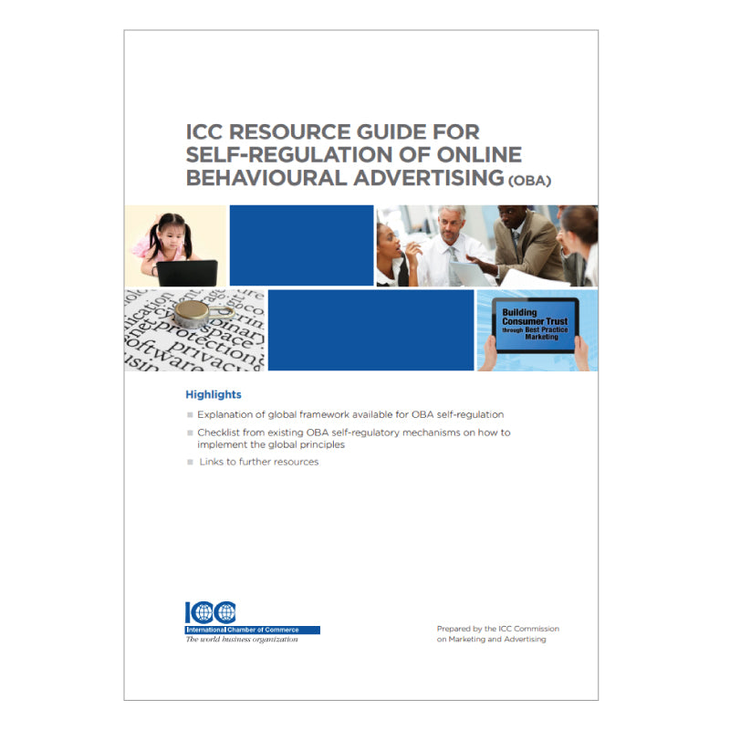 ICC Resource Guide for Self-Regulation of Online Behavioral Advertising