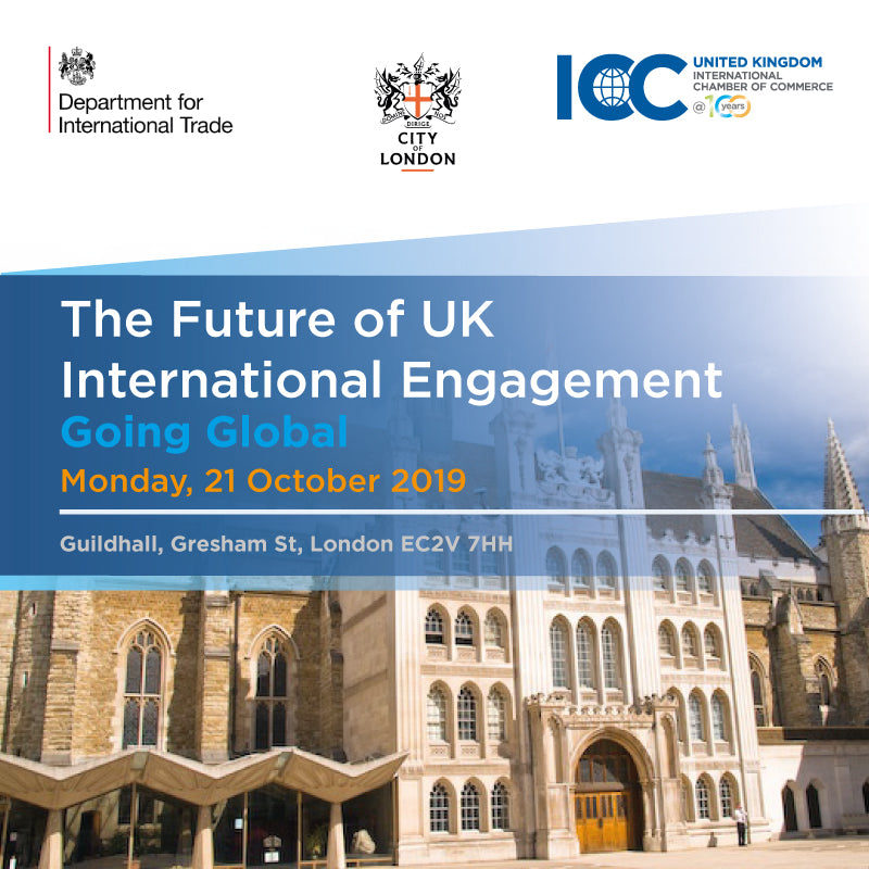 ICC Going Global Seminar, Guildhall, London, 21 October 2019