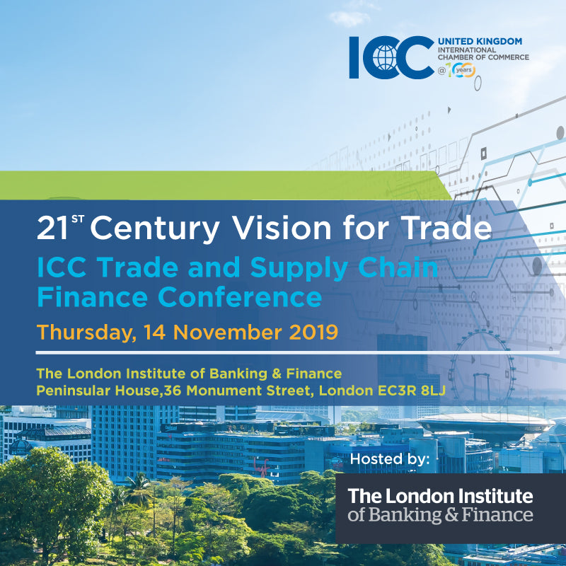ICC Trade & Supply Chain Finance, London, 14 November 2019