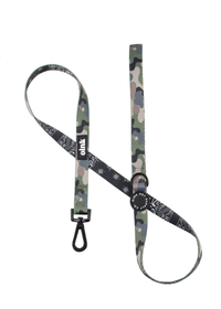 oink pet supply comfort leash with Neoprene Handle - Bandana and Army Print