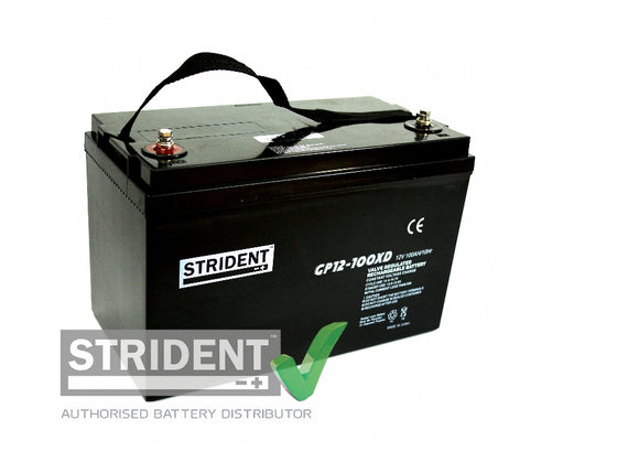 Strident™ AGM GP12volt - 100amp (GP12-100)