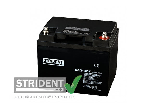 Strident™ AGM GP12 volt 42 amp (GP12-42)