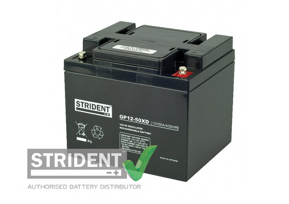 Strident™ AGM GP12volt - 50amp (GP12-50)