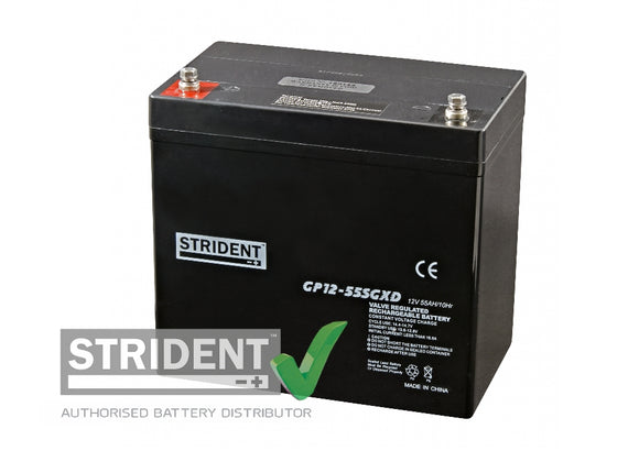 Strident™ AGM GP12volt - 55amp (GP12-55)