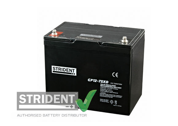 Strident™ AGM GP12volt - 75amp (GP12-75)