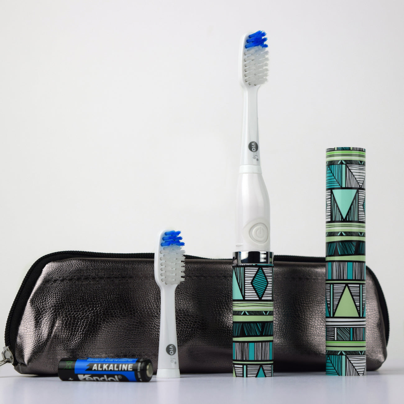 Summer Style Slim Sonic Traveler Electric Toothbrush - Picnic