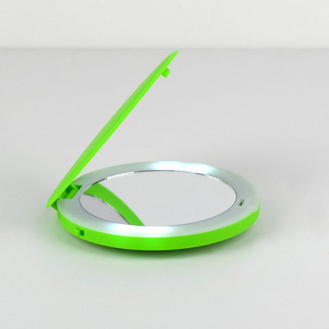 FINAL SALE: Violife LED lights magnifying mirror - Kiwi
