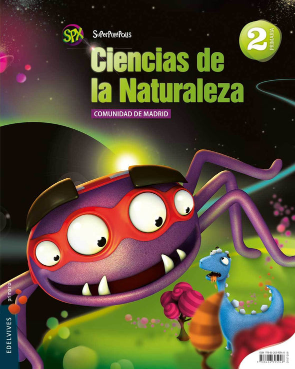 Cc.Naturaleza 2 Ep.Madrid.Superp - 9788426395948