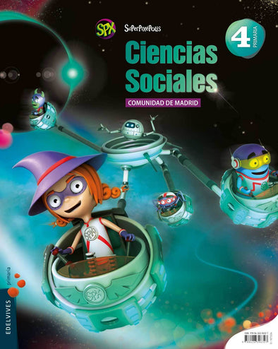 Cc.Sociales 4 Ep.Madrid.Superpix - 9788426396327