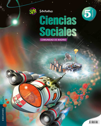 Cc.Sociales 5 Ep.Madrid.Superpix - 9788426396402