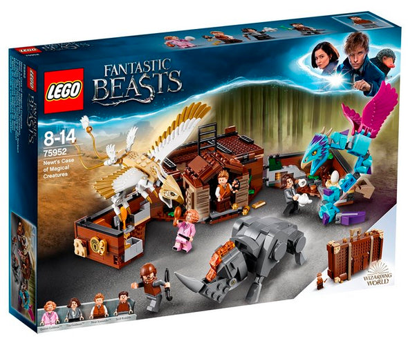 Lego Harry Potter 75952 Maleta De Criaturas Magicas De Newt